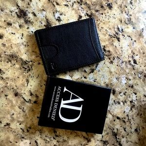 Access Denied Slim Wallet
